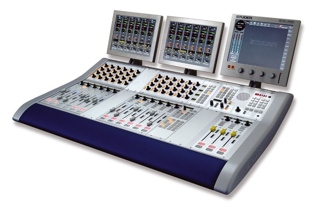 console de mixage numerique pour radio tv studer. Black Bedroom Furniture Sets. Home Design Ideas