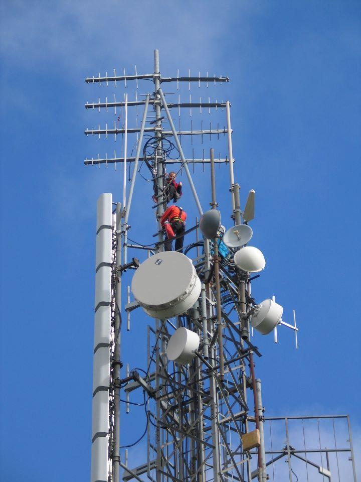 installation radio television emetteur afrique