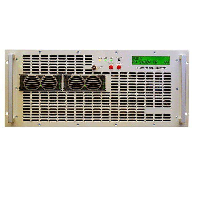 EMETTEUR FM 2000W modulaire pour station radio fm AFrique tropicalisé