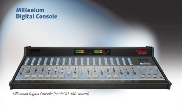console radio system usa millenium rs eletec