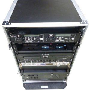 Flight Case Radio Professionnel de 20 unitèes rack