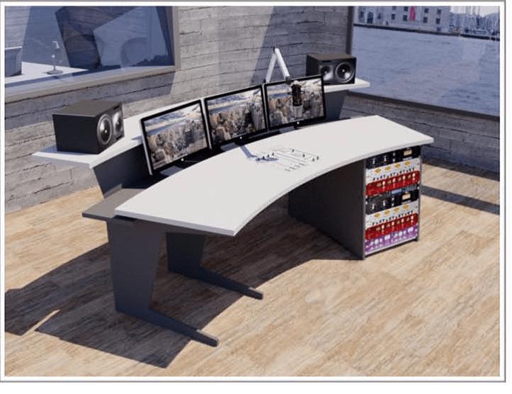 meubles pour broadcast. Black Bedroom Furniture Sets. Home Design Ideas