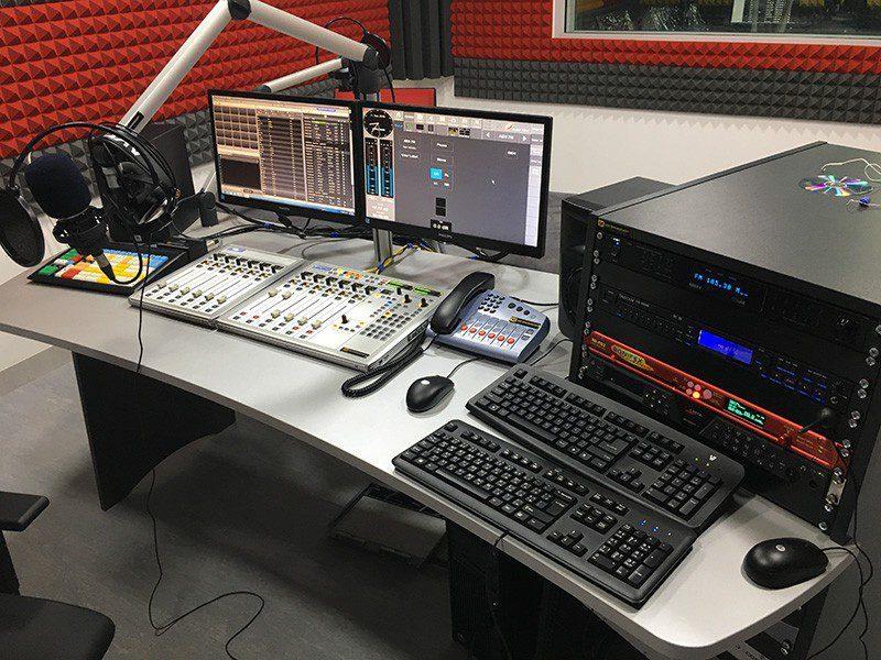 studio Radio fm équipement fm broadcast clé en main afrique