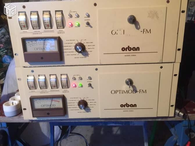 Orban Optimod FM 8100 A occasion