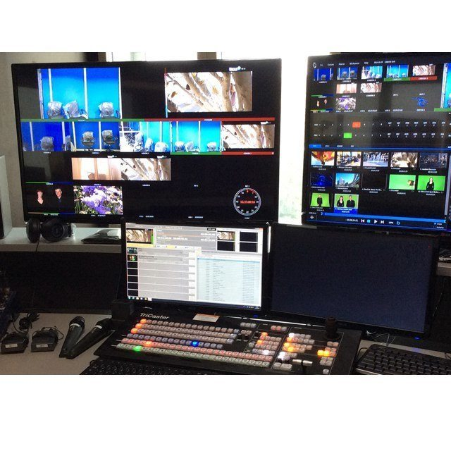 Studio TV clés en main special afrique tropicalisé