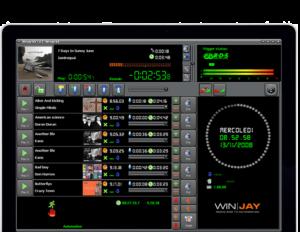 Logiciel Radio d' Automation Radio Winjay