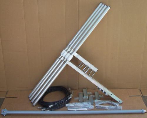 4 Antennes Dipole large bande de 87.5 à 108 Mhz