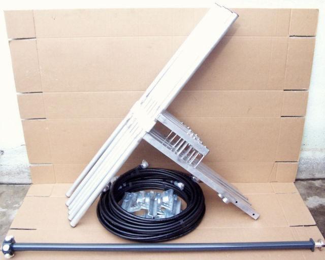 6 antennes dipole fm pour émetteur fm