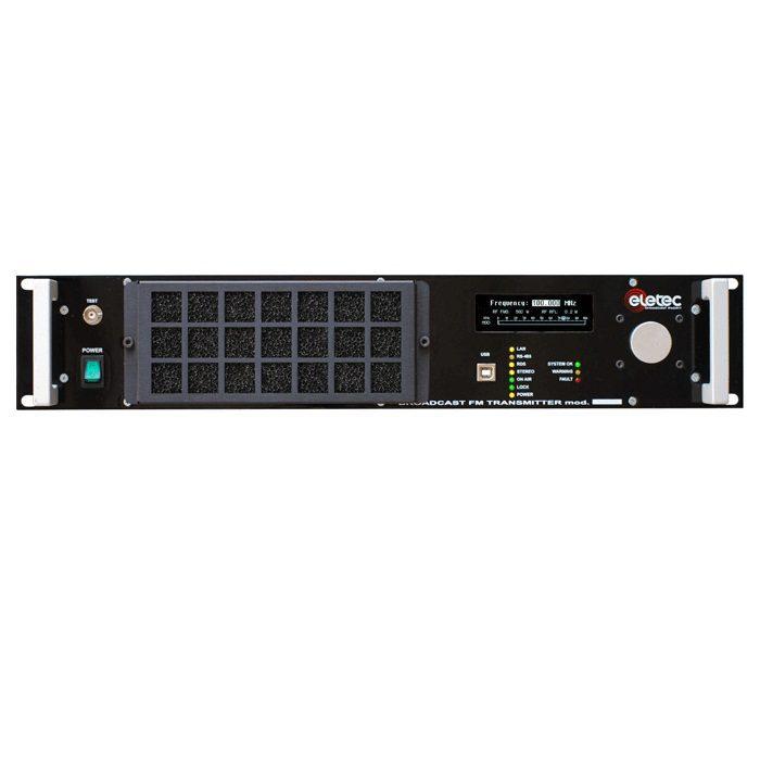 Emetteur FM 1,2 KW 1200W tropicalisé EL1200D Eletec