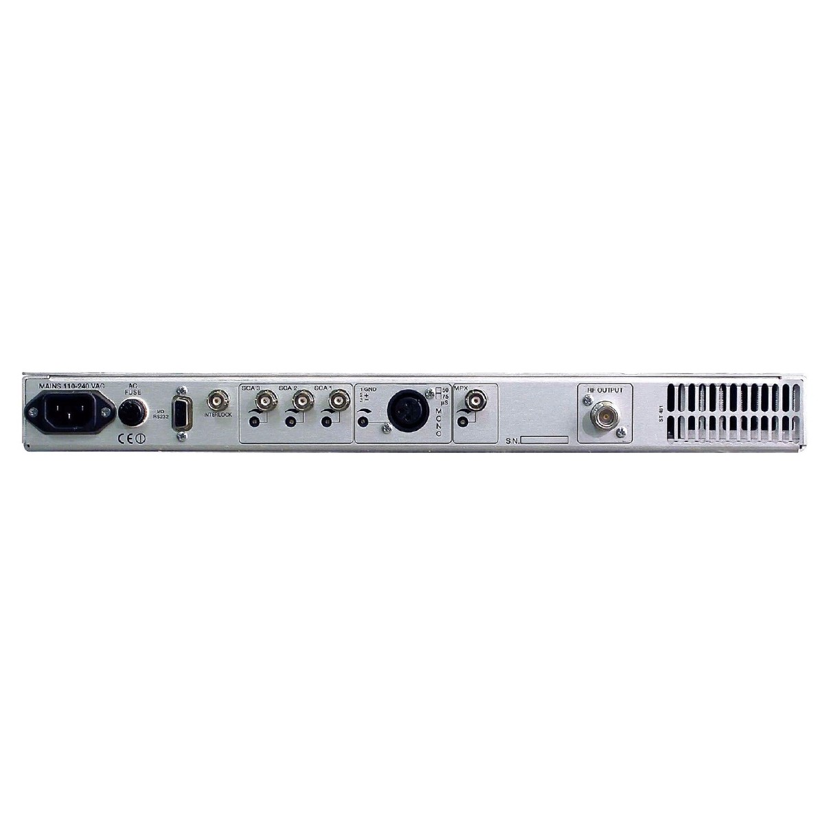 Emetteur FM 30W Compact-Faible Puissance Equipement Radio Station