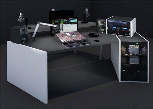 Studio Radio basic clé en main 1Kw