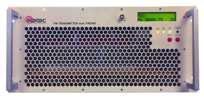 Emetteur FM pour Station Radio-Professionnelle de 2KW a 5KW Compact