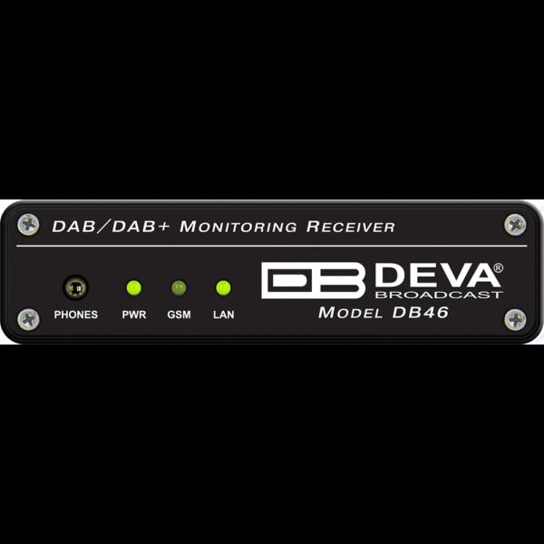DB46 DEVA – Récepteur de surveillance compact DAB / DAB +