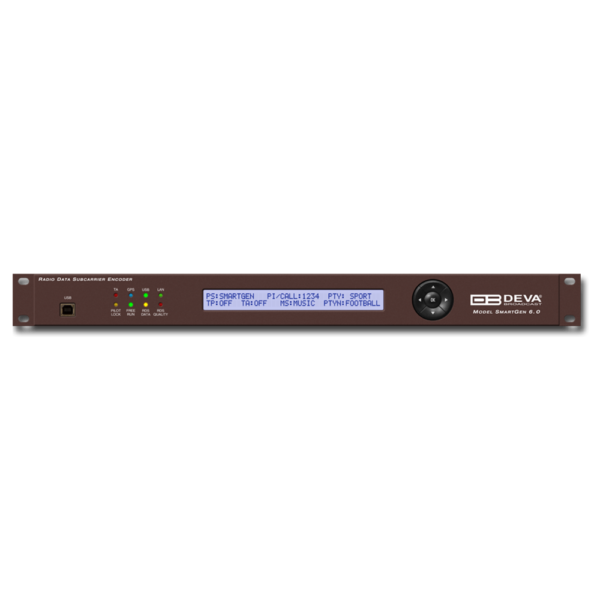 SmartGen 6.0 DEVACodeur RDS / RBDS compatible UECP