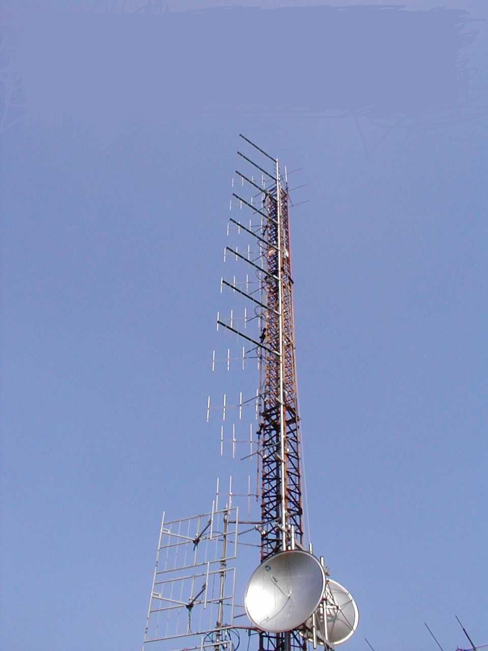 Gamme complète d'Antennes d'Emission FM pour votre radio.