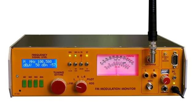 BROADCAST MONITEUR DE MODULATION FM