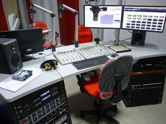 studio radio fm cles en main eletec